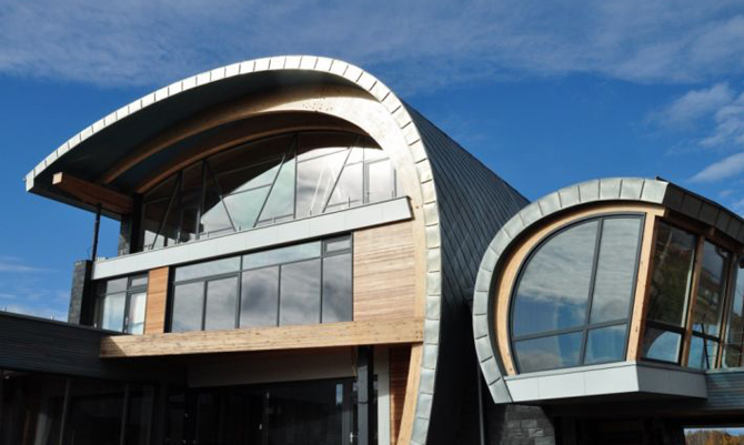 NedZink Zinc Roofing and Cladding - for the Whole Building Envelope