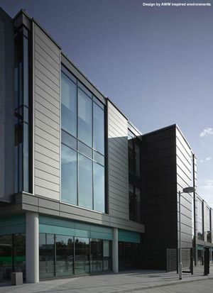 Proteus Rainscreen Cladding in NedZink NOVA: Design by AWW Inspired Environments
