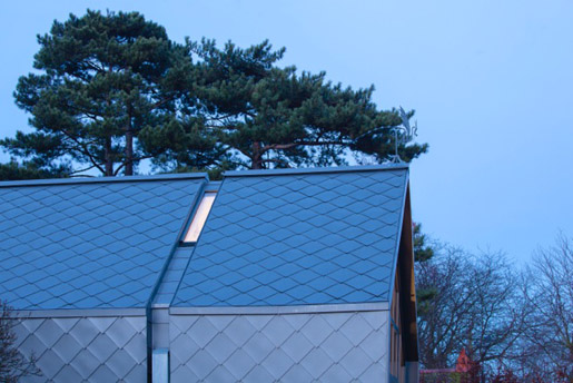 Zinc Shingles Copper Shingles Stainless Steel Shingles