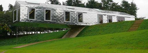 Balancing-Barn-uginox-bright-stainless-steel-shingles