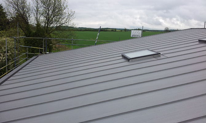 Minimum Pitch Zinc Roof – how low can you go?