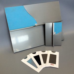 Send for sample packs of NedZink's zinc finishes