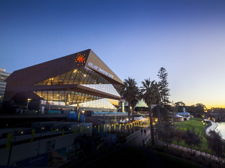 Zinc Cladding at Adelaide Convention Centre