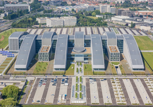 NATO HQ with a stunning and durable zinc roof