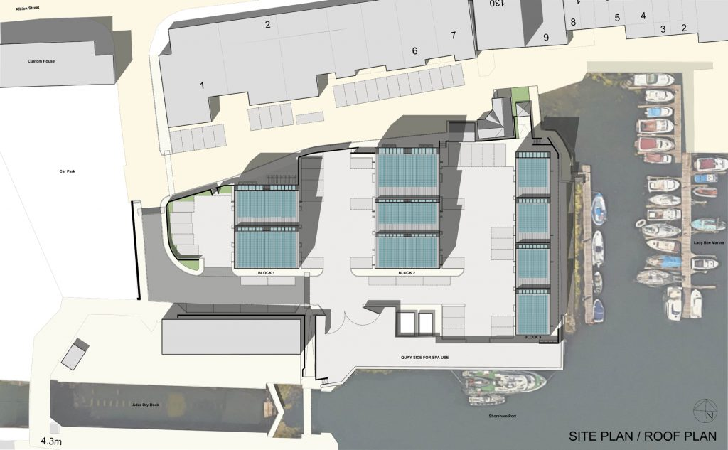 Lady Bee Enterprise Centre Site Plan Zinc Shingles
