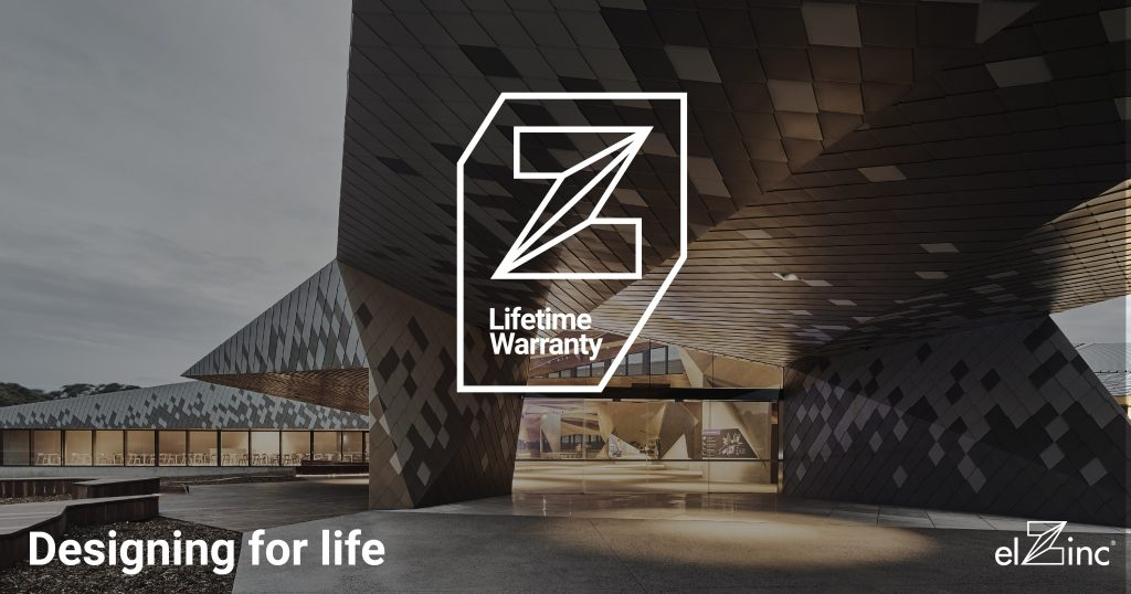 elZinc Lifetime Zinc Warranty Banner