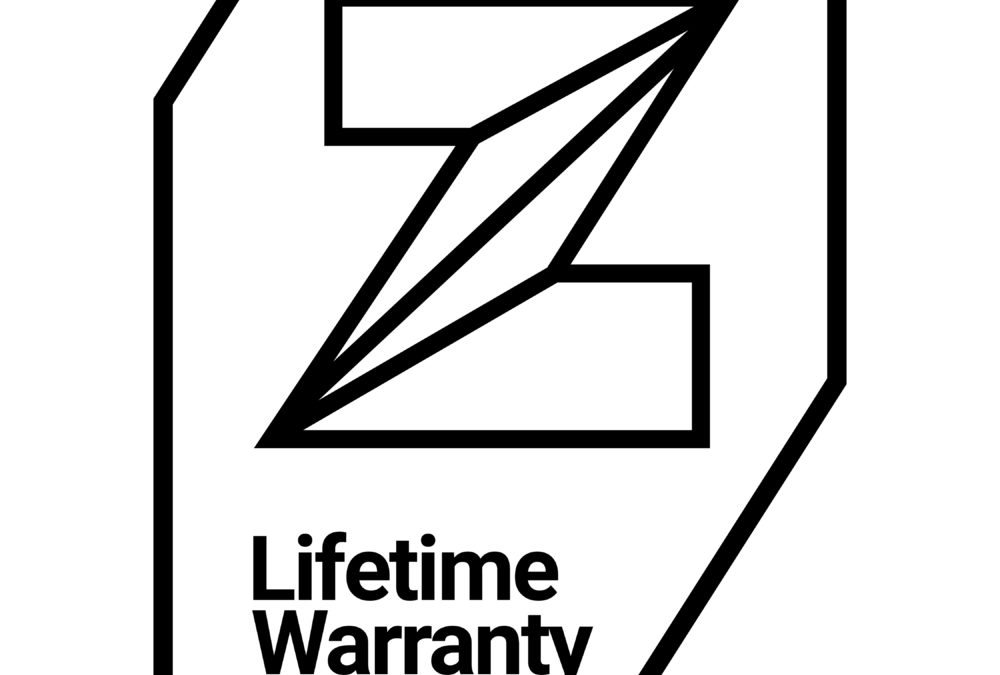 Lifetime Warranty for Zinc