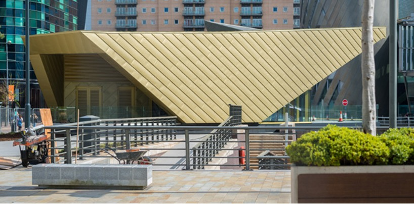 Zinc Roof Unventilated at The Alchemist Salford
