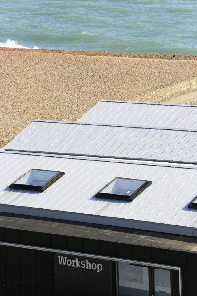Zinc Standing Seam Rooflights Volks Train Sheds